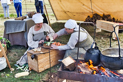M5 Living History (BobFrancis426) Tags: worcester spetchleypark wenches medieval