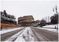 DSCF5769 18x24 2012 (M64RM) Tags: roma viadeiforiimperiali neve2012