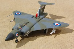 Chematic 1.72 Javelin FAW9 XH766-5 (jonf45 - 4 million views -Thank you) Tags: chematic 172 gloster javelin faw9 xh766 e 64 squadron royal air force plastic plane model aircraft kit jet