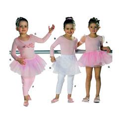 Burda 9629 ballet dance sewing pattern (FindCraftyPatterns) Tags: burda9629 dance ballet tutu leotard skirt bodysuit wrap leggings dancewear costumesewingpattern childsize45678910