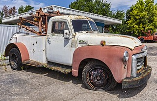 Old GMC Tow Truck