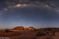 Wurre, Rainbow Valley under the Milky Way. (Nate_Patterson) Tags: milkyway panaroma rainbowvalley northernterritory remotelocation camping 6dmarkii astrophotography