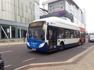 Stagecoach sunderland repainted gas bus 28009