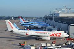 Variety at T2 MAN 1 (Gerry Rudman) Tags: jet2 airbus a330 manchester gterminal 2 variety virgin atlantic tui g vygl