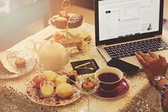 English Breakfast (shadman fotografia) Tags: englishbreakfast breakfast tea sandwich dessert laptop imac dof sweettooth flare shadman shadmanfotografia shadmanfotografiacom canon eos 700d t5i canon700d canont5i 50mm 50mmstm dhaka bangladesh