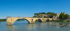 Pont Saint-Bénézet panorama (Scottmh) Tags: 2018 europe saintbénézet avignon d7100 du france june nikon pont rhone river summer travel water bridge sky arch