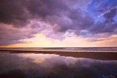 Sand and shore (Sumarie Slabber) Tags: beach sea ocean sumarieslabber bicol philippines sunset clouds cloudy sand travel adventurelight weather nikon water reflection landscape seascape sky cloud