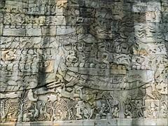 Angkor Thom, Bayon Riverine 20180202_090859 DSCN2462 (CanadaGood) Tags: asia seasia asean cambodia siemreap angkor angkorthom khmer bayon sculpture stone archaeology canadagood 2018 thisdecade color colour buddhist hindu