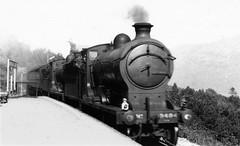 strathclyde - lner 9494 & 9496 arriving arrochar & tarbert 04-8-1938 (johnmightycat1) Tags: railway lner scotland