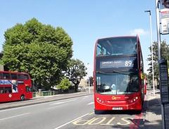 Go-Ahead London Central EN26 LK57EJO | 89 to Lewisham Station (Unorm001) Tags: en26 en 26 lk57ejo lk57 ejo 89 dn 33502 dn33502 red london double deck decks decker deckers buses bus routes route diesel go ahead