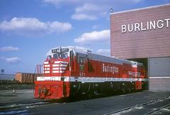 CB&Q U28C 571 (Chuck Zeiler) Tags: cbq u28c 571 burlington railroad ge locomotive clyde train chuckzeiler chz