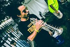 Ashlin Parker, spiked trumpet- Satchmo Summerfest 2018