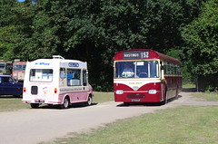 IMGP2744 (Steve Guess) Tags: tinkers park hadlow down east sussex england gb uk uckfield claude jessett collection museum ice cream van bedford cf bus southdown eastkent leyland leopard 273auf