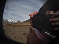 Selfie (Eric_Lumix GX80) Tags: mirrow car iceland gx80 island mountain landscape selfie