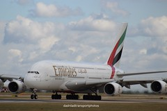 Emirates - A6-EOB (anthonymurphy5) Tags: planespotting jetphotos aircraft airport transport travel outside flight pilot emirates a6eob airbus a380800 manchesterairport