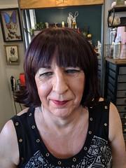 August 2018 (Patrice Bailey) Tags: face cd crossdress crossdresser crossdressing ts tv tg tranny transvestite transgender transsexual tgirl tgurl gurl salom hair wig