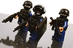 Spetsnaz Fireteam II (TierMR) Tags: lego minifig special forces spetsnaz army military war guns