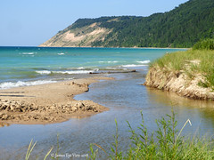 Pure Michigan! (JamesEyeViewPhotography) Tags: sleepingbeardunesnationallakeshore puremichigan beach summer water waves sand dunes otter creek greatlakes grass trees sky northernmichigan lake michigan nature landscape lakemichigan august colors swimming jameseyeviewphotography