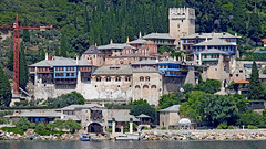 Greece, Macedonia, Aegean Sea, Docheiariou  monastery view from a boat cruising around Mount Athos peninsula (Macedonia Travel & News) Tags: greecemacedonia agiooros cruise chalkidiki aegeansea macedoniatravel greece makedonia macedoniatimeless macedonian macédoine mazedonien μακεδονια ancient greek culture vergina sun blog star thessaloniki hellenic republic prilep tetovo bitola kumanovo veles gostivar strumica stip struga negotino kavadarsi gevgelija skopje debar matka ohrid mavrovo heraclea lyncestis history alexander great philip macedon nato eu fifa uefa un fiba macedonianstar verginasun macedoniapeople macedonians peopleofmacedonia macedonianpeople macedoniablog macedoniagreece timeless македонија macedonianews macedoniapress македонијамакедонскимакедонци tourism macedonia