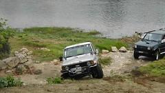 Off-roading - Toyota Land Cruiser (J70) (JPC24M) Tags: 4x4 automobile pente gravir inclinaison slope difficulté toy