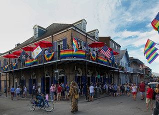 Everyday a party on Bourbonstreet - New Orleans - USA