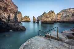 Ponta da Piedade (A.Coleto) Tags: lagos portugal ponta da piedade filtros atardecer sunset degradado nd canon alvaro coleto