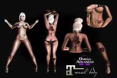 LuckyColor Tattoo (Mito Psycho) Tags: secondlife second life tattoo tattoos omega maitreya belleza altamura applier freya isis venus lara advanced kit color colored sale promo tmp hourglass slink physique