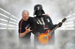 STAR WARS - me and Darth Vader playin' Gibson Les Paul - 501st Italica Garrison all'Omnia Center per la proiezione di SOLO (Alessandro_Morandi) Tags: star wars darth vader playin gibson les paul 501st italica garrison allomnia center per la proiezione di solo