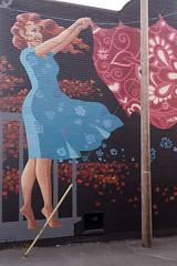 From there to here / Vent nouveau (détail) (Jacques Lebleu) Tags: murale noranda neighbours inclusion art annieboulanger diversité mineurs arianeouellet fros