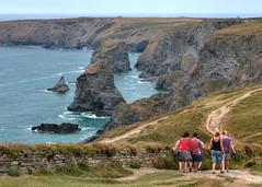 Photo of Cornish coast at Bedruthan Steps