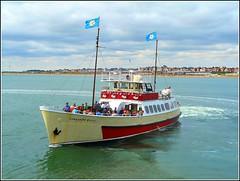 The Grand Old Lady ... (** Janets Photos **) Tags: uk bridlington eastyorkshire classicships pleasureboats yorkshirebelle