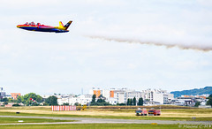 Fouga ! (Maxime C-M ✈) Tags: show awesome paris summer colors fly speed aviation event airplane passion beautiful rescue firefighters firedepartement france europe