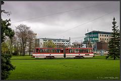 Tram Tallinn (Schnitzel_bank) Tags: tallinn reval harjumaa estland eesti tramvajová public transport čkd strassenbahn tram tramway strasenbahn streetcar electrico tramvia tatra kt4 1067mm kapspur tallinnalinnatranspordi