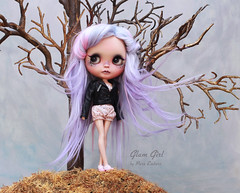 The summit (pure_embers) Tags: pure embers blythe doll dolls custom kdollsheaven neo uk laura england girl pretty pureembers photography lilac pink alpaca hair pastel goth glitter glam adventure visitor tree eleanorjaneagain
