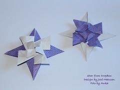 Star from DropBox (José Meeusen) (AnkaAlex) Tags: paperfolding papercraft paper paperfoldingart