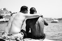 friends (Artur Wala) Tags: friends blackandwhite bnw black white people peoplephotography vacation goodtime boattrip monochrome