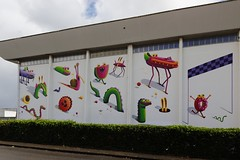 Nicolas Barrome Forgues (Thethe35400) Tags: artderue arteurbano arturbain arturbà arteurbana calle grafit grafite grafiti graffiti graffitis graff mural murales muralisme plantilla pochoir stencil streetart schablone stampino tag urbanart wall