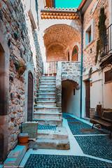 Scale di Scapoli (SDB79) Tags: scapoli borgo antico scale paese molise