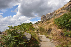 Path to Stanage Edge (Bri_J) Tags: stanageedge peakdistrict nationalpark hathersage derbyshire uk countryside hdr nikon d7200 path hill clouds sky