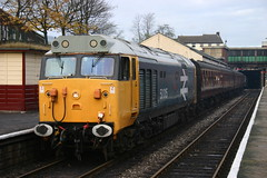 50015 - Bury 15 November 2008 (Rail and Landscapes) Tags: class50 50015 valiant elr