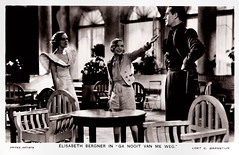 Penelope Dudley-Ward, Elisabeth Bergner and Hugh Sinclair in Escape Me Never (1935) (Truus, Bob & Jan too!) Tags: hughsinclair hugh sinclair british actor acteur darsteller schauspieler elisabethbergner elisabeth bergner german actress actrice darstellerin schauspielerin european filmstar cinema cine kino film picture screen movie movies filmster star vintage postcard carte postale cartolina tarjet postal postkarte postkaart briefkarte briefkaart ansichtskarte ansichtkaart escapemenever 1935 unitedartists loetcbarnstijn barnstijn penelopedudleyward penelope dudleyward