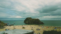 Trip to Tenby (j_atomic) Tags: tenby wales coast beaches beach clouds
