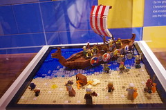 IMGP3102 (Steve Guess) Tags: winchester museum lego display novium vikings model chichester west sussex england gb uk