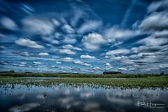 Long exposure sky reflection @ Polder Groot Mijdrecht (PaulHoo) Tags: nikon d750 landscape long exposure polder groot mijdrecht nature reflection wind sky skyporn cloud cloudporn 2018