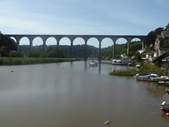 24 June 2018 Calstock (44) (togetherthroughlife) Tags: 2018 june cornwall calstock viaduct river rivertamar bridge