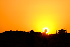 Saint (Kornelson) Tags: saint holy sun sunrise sunset sunlight yellow man fuji fujifilm fujinon f