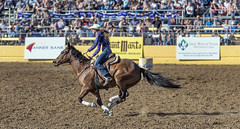 Giddy Up (acase1968) Tags: red bluff round up rodeo barrel racing female horse woman cowgirl nikkor 70200mm f28g california nikon d750 cowboy hat spurs race boots