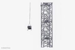 Fun with High Rise Cranes (buffdawgus) Tags: canonef24105mmf4lisusm topazstudio lightroom6 canon5dmarkiii minimalist highrisecrane