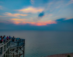 A Classic summer sunset . . . (Dr. Farnsworth) Tags: piercestocking sand dune sunset hold clouds stop number nine sleepingbear mi michigan summer august2018