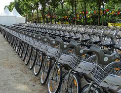 Paris biking event